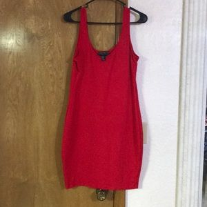 Dresses & Skirts - Red bodycon dress